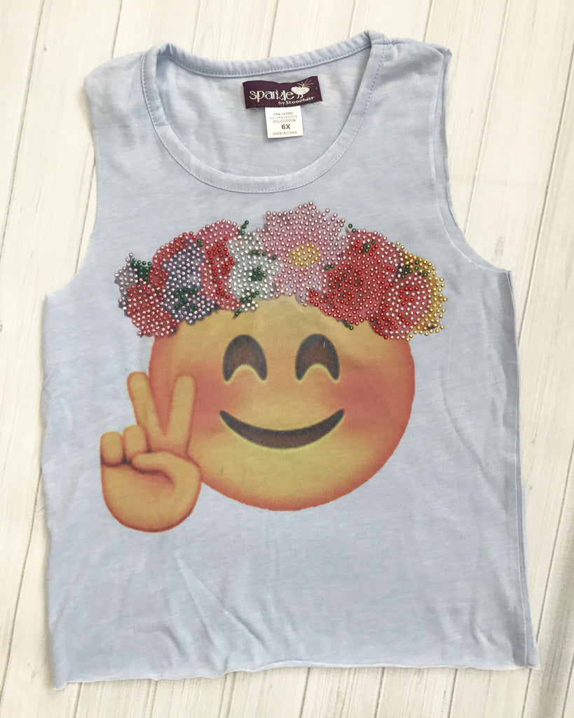 Sparkle Hippie Muscle Tee