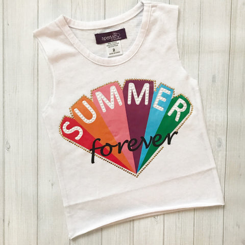 Sparkle by Stoopher Summer Forever Muscle Tee