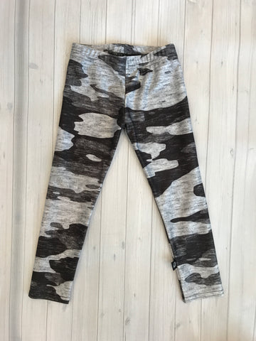 Terez Heathered Grey Camo Legging