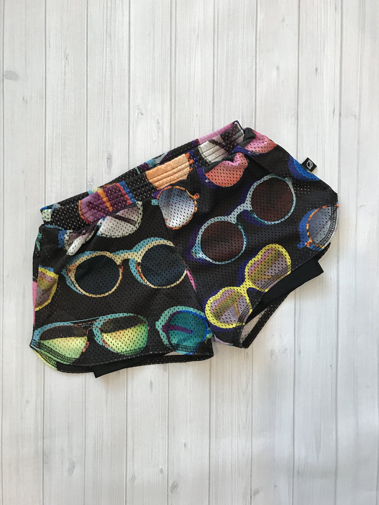 Terez My Sunglasses At Night Mesh Shorts