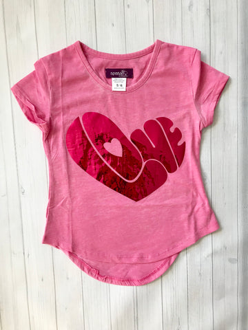 Sparkle by Stoopher Glitter Love Tee