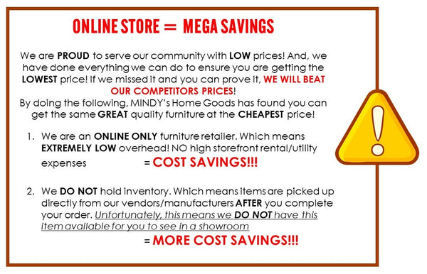 Online Store   MEGA Savings. MINDY s Home Goods   Furniture Store   Mindys Home Goods