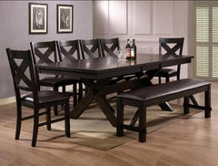 6 Pc. Havana Formal Dining Room Set (Includes Bench)