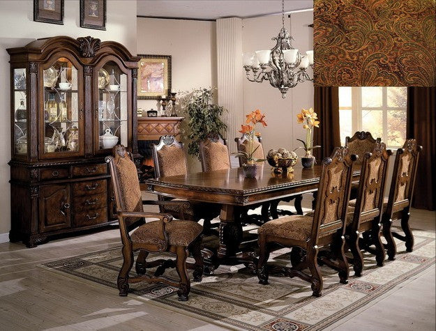 7 or 9 Pc. Neo Renaissance Formal Dining Set