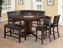 Harrison Collection 7 Piece Counter Height Dining Set