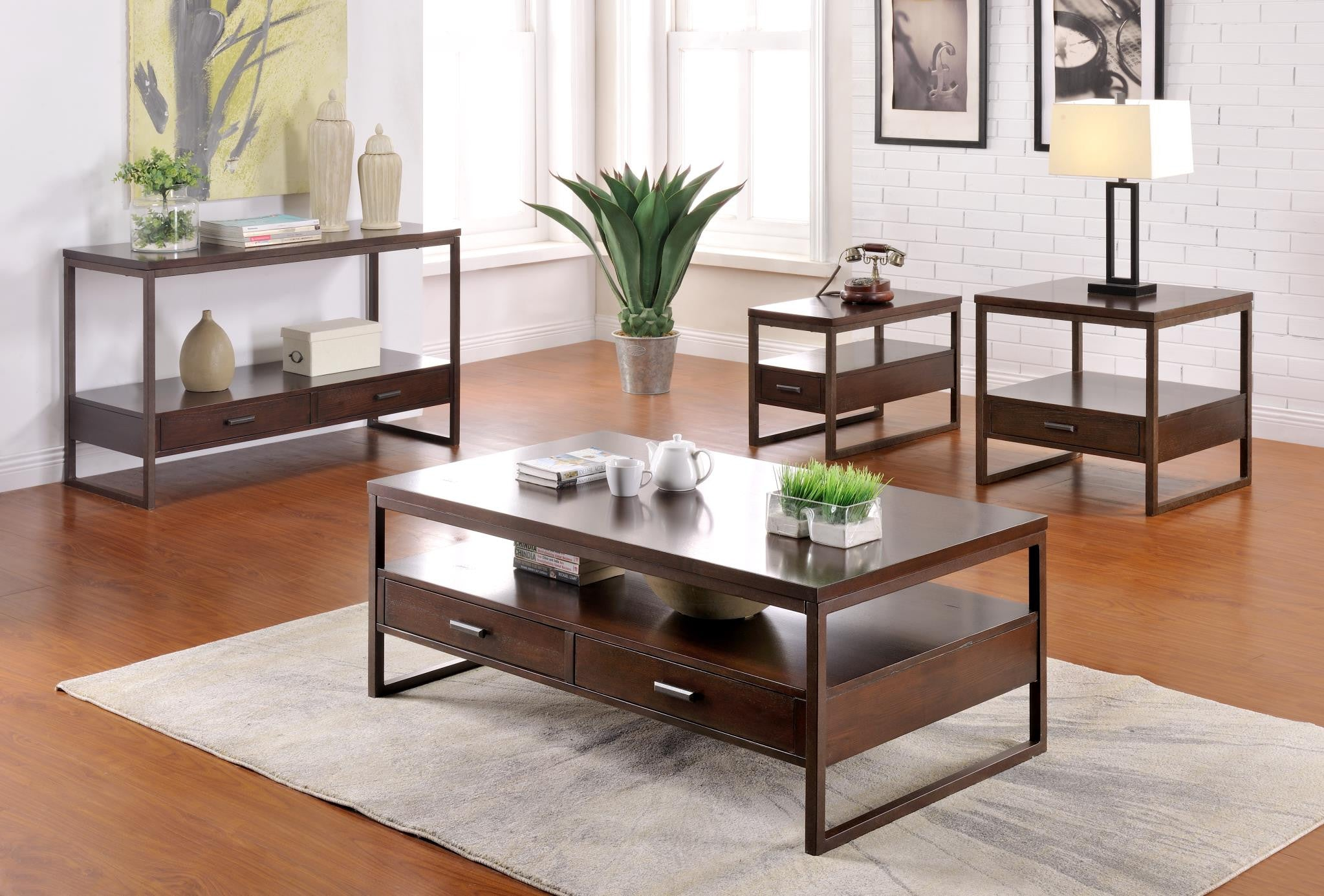 Silas Occasional 3 Piece Coffee Table Set & Silas Occasional 3 Piece Coffee Table Set u2014 Mindys Home Goods