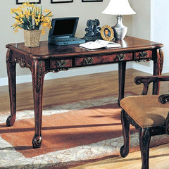 Agatha Wooden Writing Desk - Walnut Finish