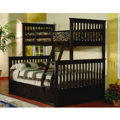 Twin/Full Solid Wood Bunkbed