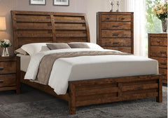 Rustic Curtis 5-Piece Bedroom Group