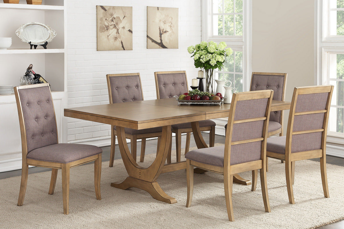 Magnificent French Inspired Dining Table 6 Chairs Beutiful Home Inspiration Xortanetmahrainfo