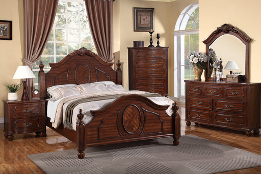 5 Piece Wood Bedroom Set