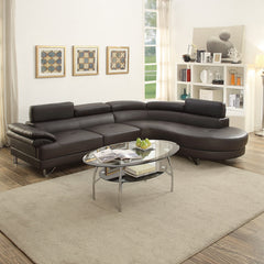 2 Piece Modern Sectional Sofa