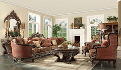 3 Pc Traditional Curved Sectional