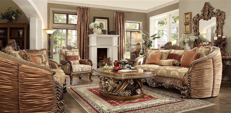 2 Piece Traditional HD-1601 Living Room Set