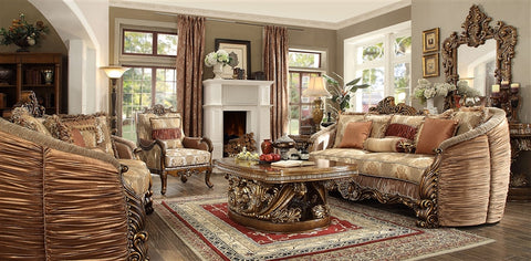 2 Piece Traditional HD-1601 Living Room Set (Use Coupon Code FREESHIP17 FOR FREE SHIPPING)
