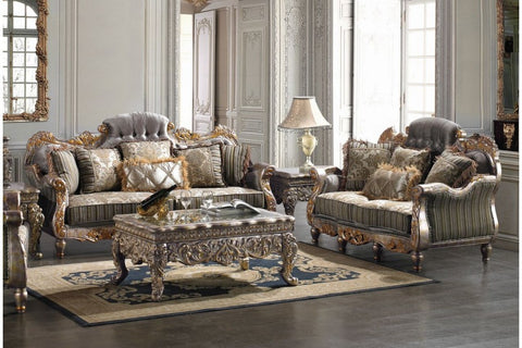 2 Piece Traditional HD-287 Living Room Set (Use Coupon Code FREESHIP17 FOR FREE SHIPPING)