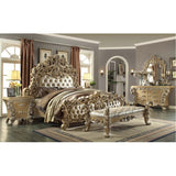 4 Piece Traditional HD-7012 Bedroom Set (Use Coupon Code FREESHIP17 FOR FREE SHIPPING)