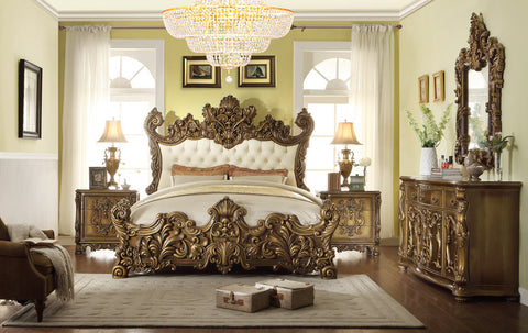 4 Piece Traditional HD-8008 Bedroom Set (Use Coupon Code FREESHIP17 FOR FREE SHIPPING)
