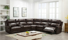 Georgia Thick Stitch Reclining Sectional