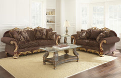 Adalene Elegant Living Room Set