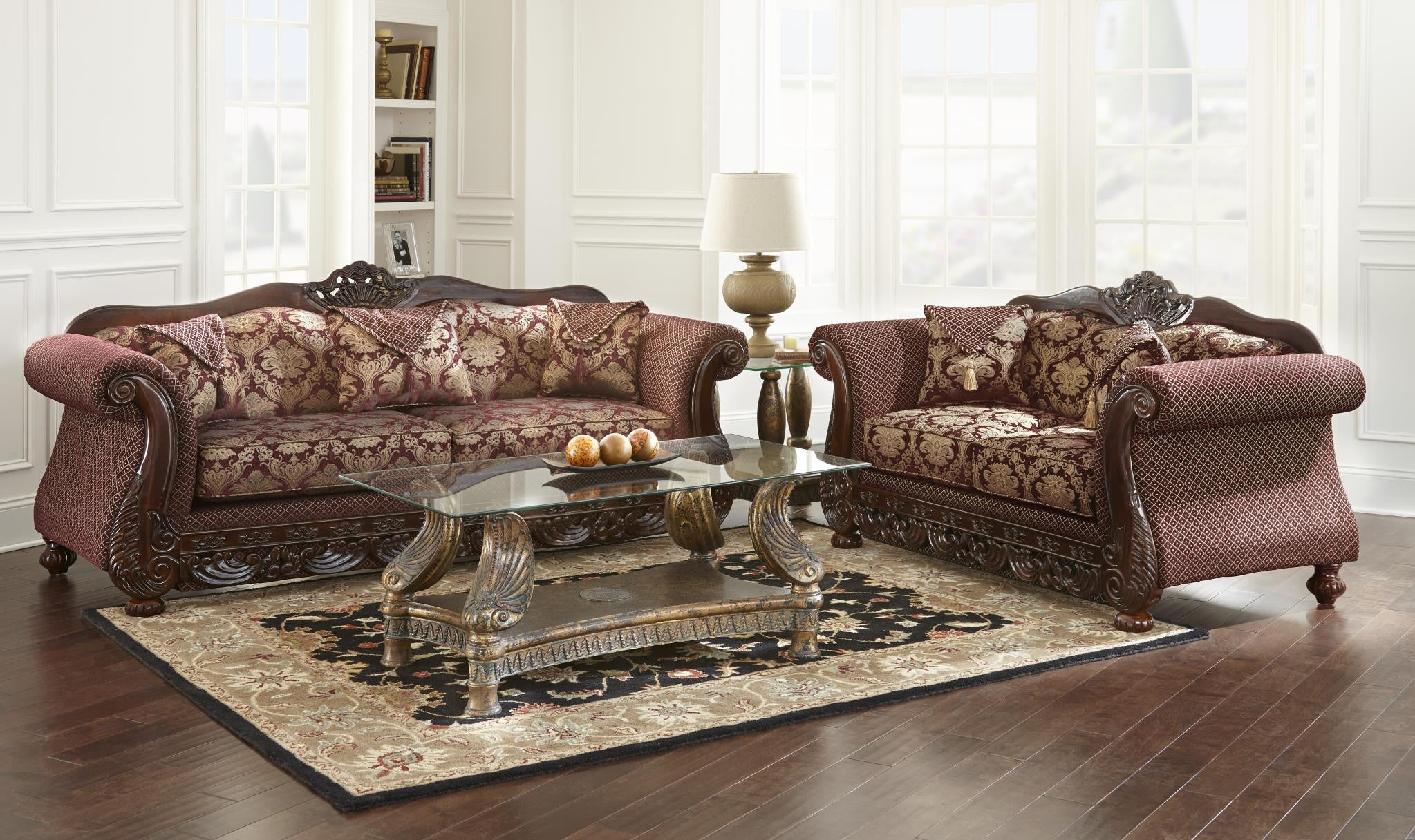 Domingo Elegant Living Room Set