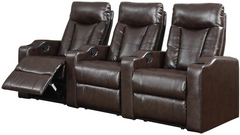 3 Seat Reclining Home Theatre Set