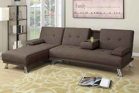 Adjustable Sectional - Futon : sectional futon - Sectionals, Sofas & Couches