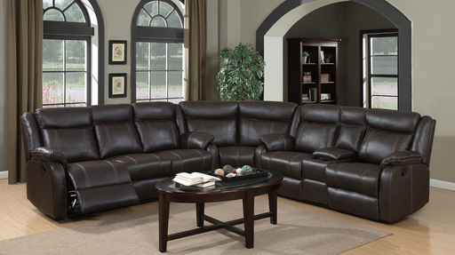 Haley 3 Piece Reclining Sectional