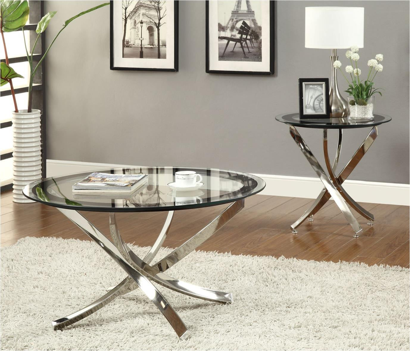 Skyline Occasional 3 Piece Coffee Table Set