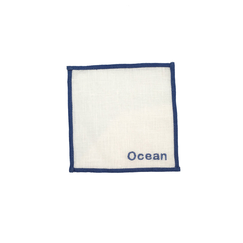 Color Edge Luncheon Napkin