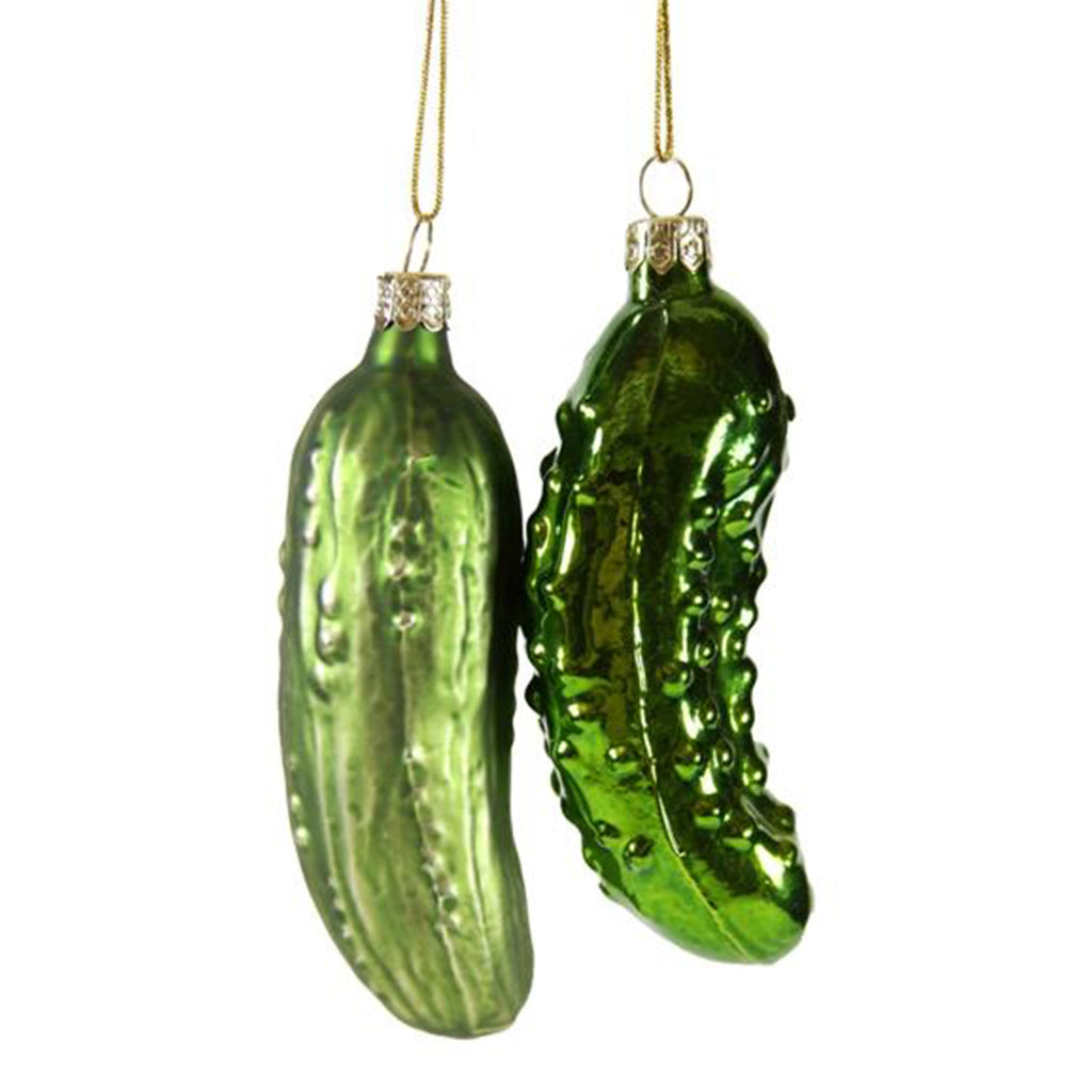 Pickle Ornament - All She Wrote