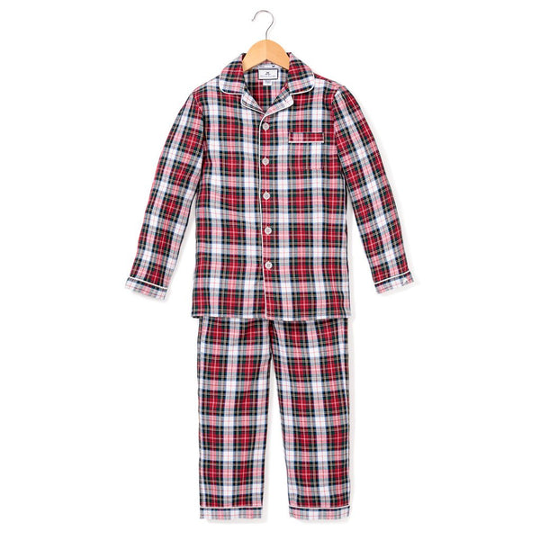 Festive Tartan Pajama Set - All She Wrote