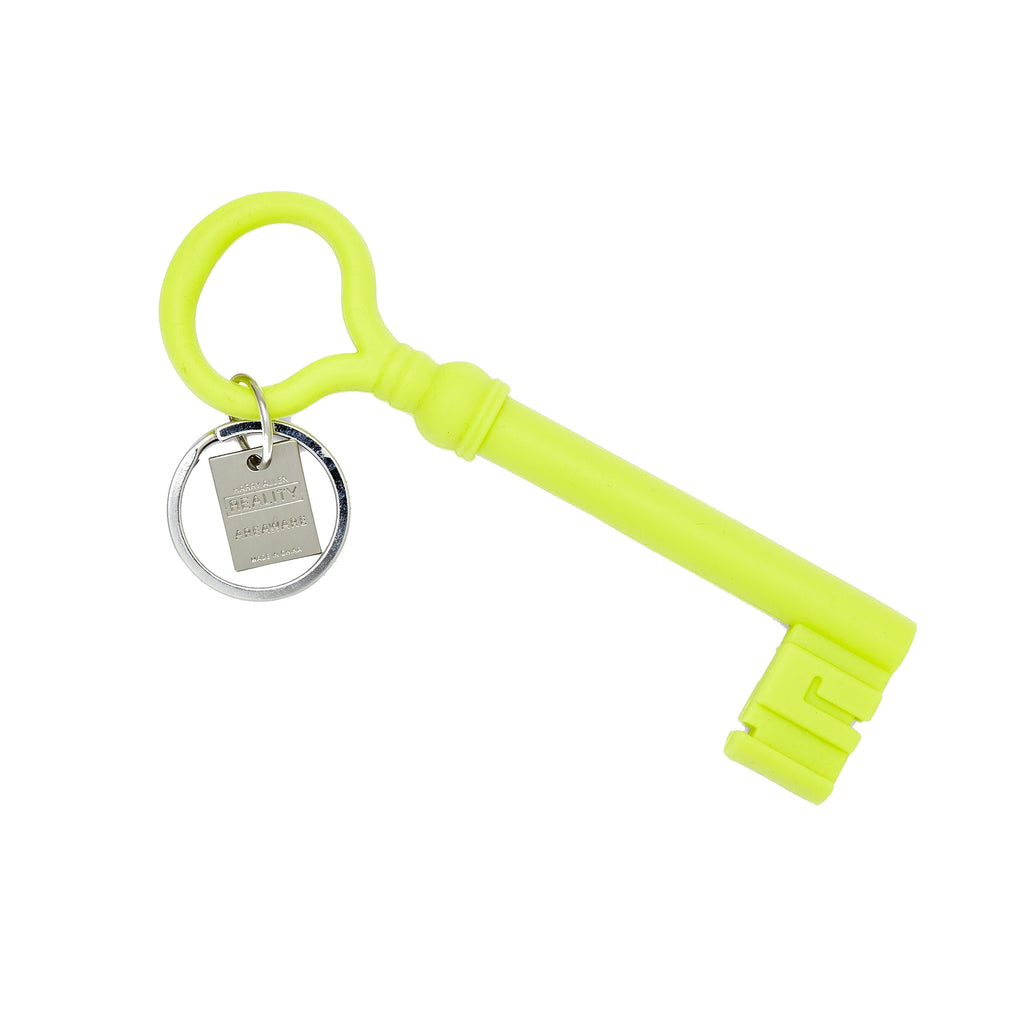 Chartreuse Key Keychain - All She Wrote
