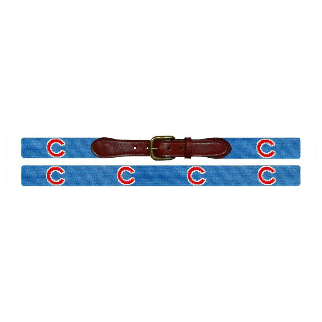 Chicago Cubs Needlepoint Belt - All She Wrote