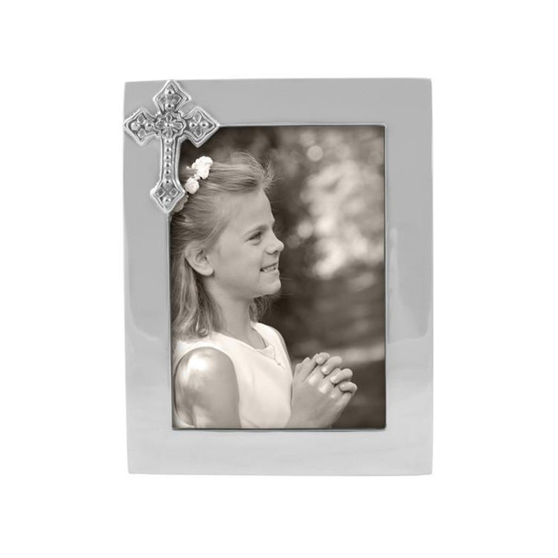 Cross 5x7 Frame - All She Wrote