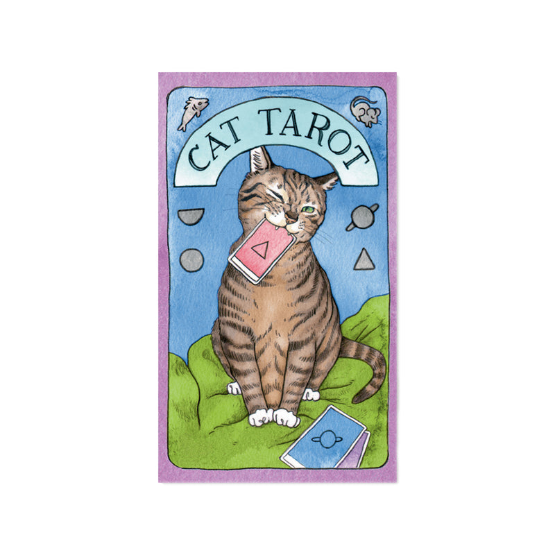 Cat Tarot Cards - All She Wrote