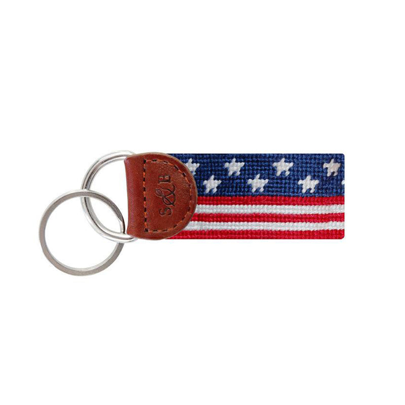 Old Glory Key Fob - All She Wrote