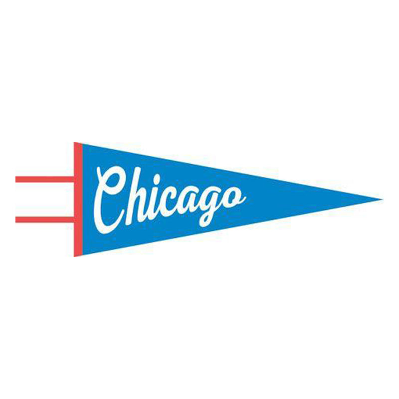 Chicago Pennant - All She Wrote