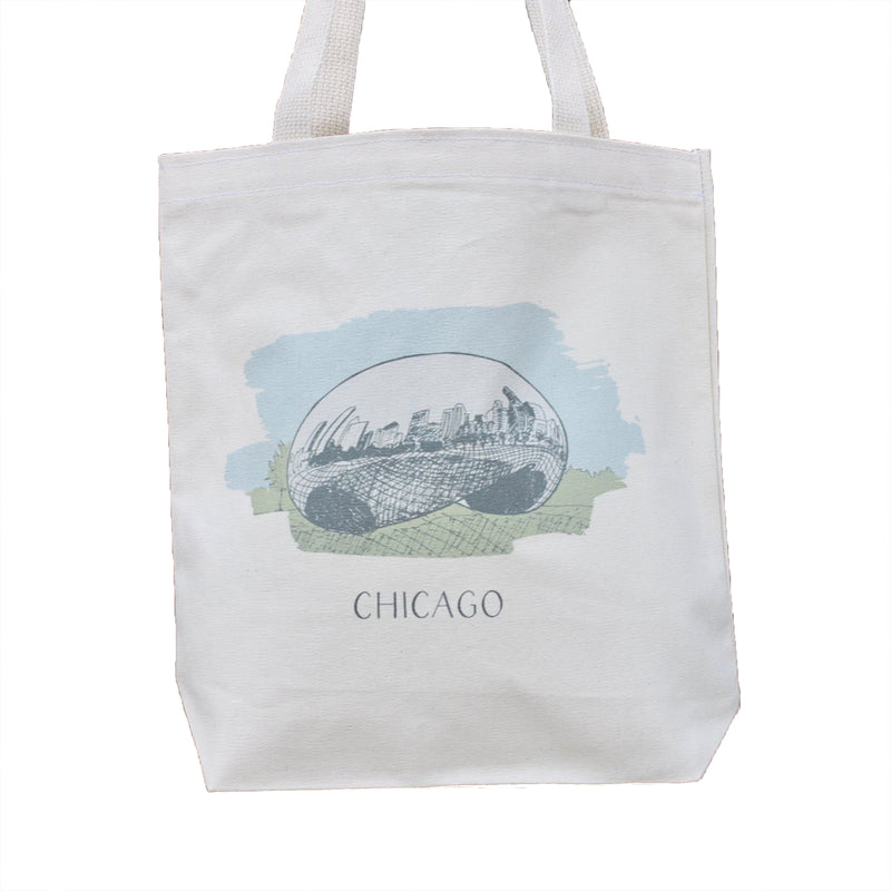 Chicago Bean Tote - All She Wrote