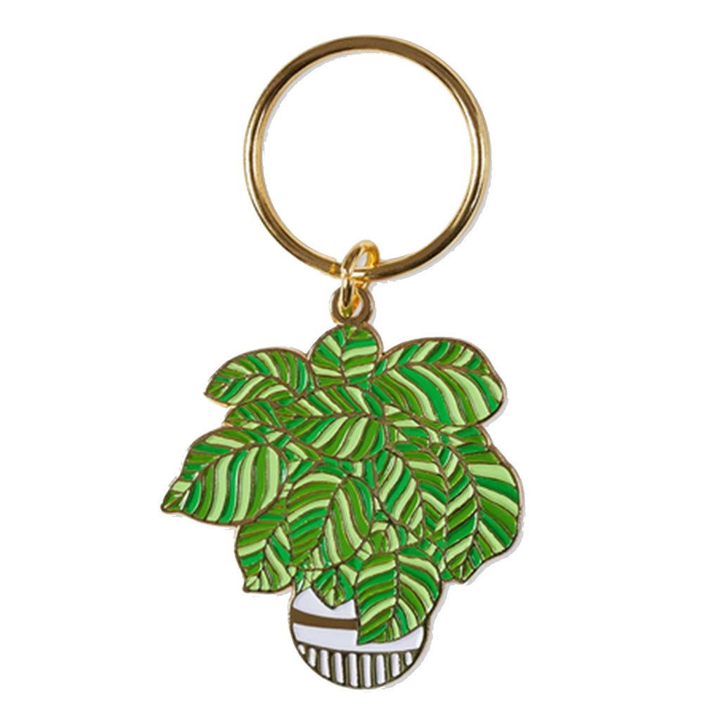 Plant Keychain - All She Wrote