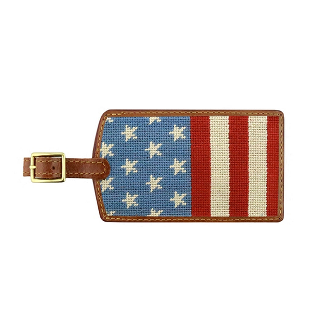 Stars and Stripes Luggage Tag - All She Wrote