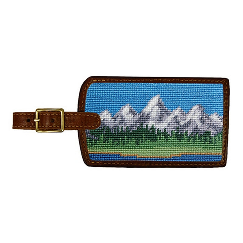 Tetons Luggage Tag - All She Wrote