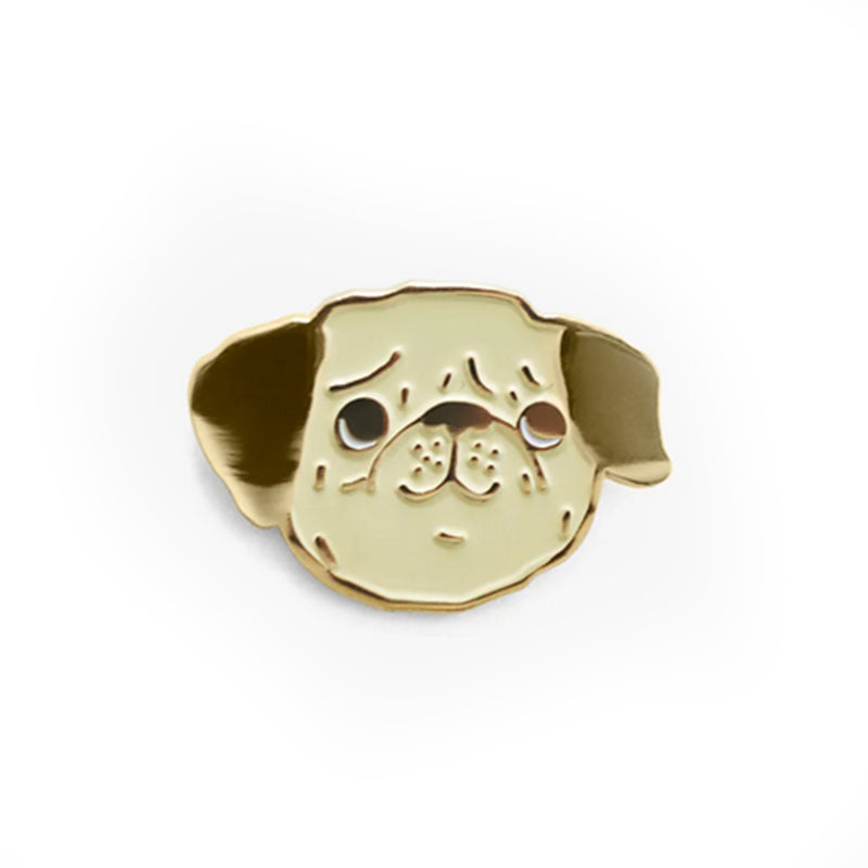 Pug Pin - All She Wrote