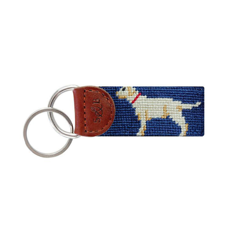 Yellow Lab Key Fob - All She Wrote