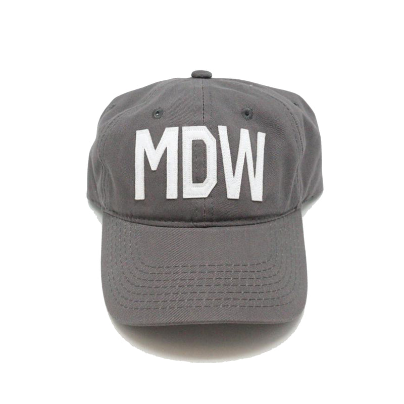 Gray MDW Hat - All She Wrote