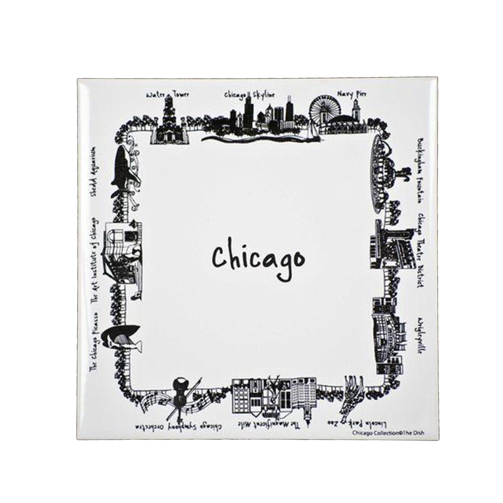Chicago Trivet - All She Wrote