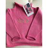 Fuchsia Cotton Rollneck Sweater - All She Wrote