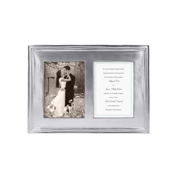 Classic 5x7 Double Frame - All She Wrote