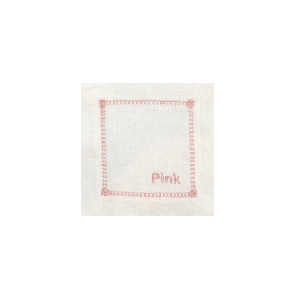 Ladder Edge Cocktail Napkin