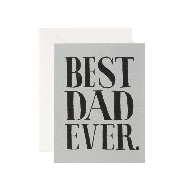 Best Dad Ever Card - All She Wrote